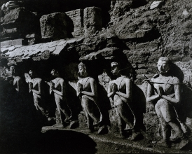 04) FRIEZE OF WALKING MONKS ON THE BASE OF THE MAHADHATU, SUKHODAYA